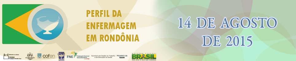 Perfil da Enfermagem e Rondonia